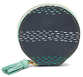 Fossil Keely Striped Tasseled Zip Coin Case