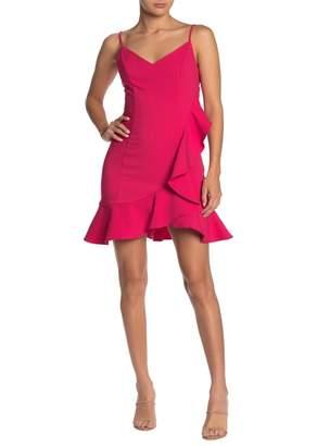Do & Be Do + Be V-Neck Sleeveless Ruffle Dress