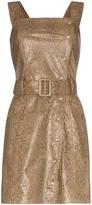 Nanushka mini Lorena snake print dress