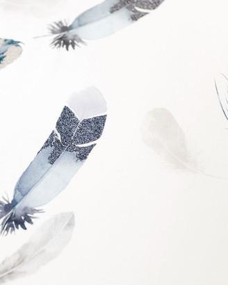 Oilo Studio Featherly Jersey Standard Crib Sheet