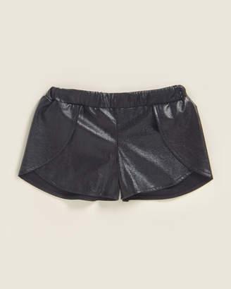 Mia Girls 7-16) Sheen Flap Shorts