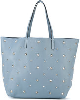 RED Valentino large studded shopper - women - Calf Leather/metal - One Size
