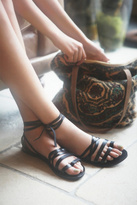 FP Collection Womens HARPOON WRAP SANDAL