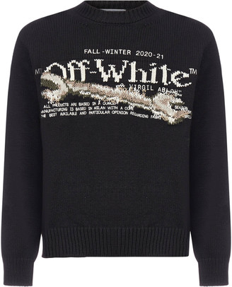 Off-White Pascal Tool Wool-blend Sweater