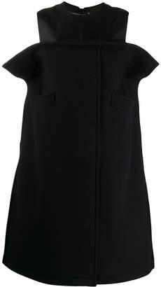 Maison Margiela curved panel dress