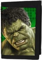 BB Designs Genuine Marvel Avengers Age Of Ultron Hulk Lenticular 3D Velcro Wallet