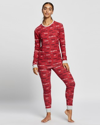 Cotton On Jo Long Sleeve PJ Set - Unisex