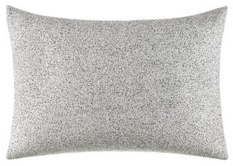 """Vera Wang Feather Throw Pillow Color: Light Gray, Size: 12"""" L x 16"""" W"""