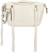 McQ by Alexander McQueen Loveless Cream Leather Shoulder Bag