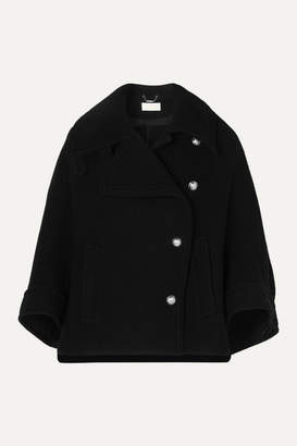 Chloé Wool-blend Coat - Black