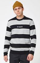 Obey Wilton Striped Crew Neck Sweatshirt