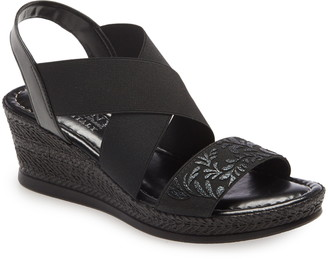 TUSCANY by Easy Street Ysabelle Wedge Sandal