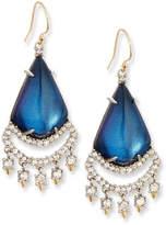 Alexis Bittar Crystal Lace Chandelier Earrings, Blue Velvet
