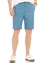 Original Penguin P55 Straight-Fit Flat-Front Stretch Basic Shorts