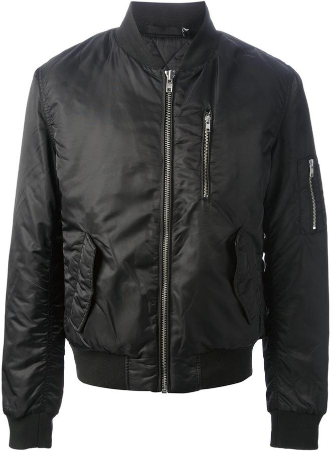 BLK DNM classic bomber jacket