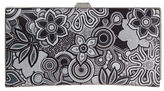 Lodis Vanessa Swirl Leather Frame Wallet