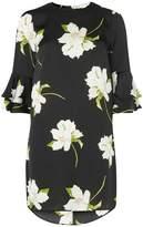 Dorothy Perkins Black Lily Floral Shift Dress