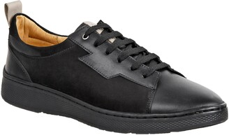 Sandro Moscoloni Wally Leather Lace-Up Sneaker