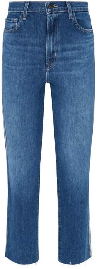 J Brand High-Rise Jules Straight Jeans