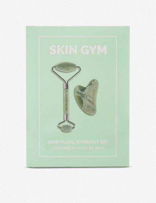 Skin Gym Jade eye roller and face tool set