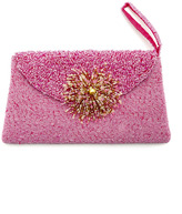 About Color Beaded evening clutch