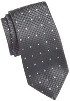 Vince Camuto Textured Dot Silk Tie