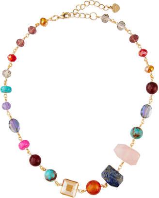 Nakamol Short Beaded-Stone Necklace