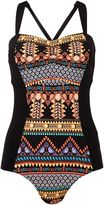 Seafolly Spice temple larger cup maillot swimsuit