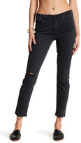 Mother The Double Frayed Hem Charmer Jean