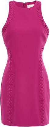 Cinq à Sept Alison Whipstitched Ponte Mini Dress