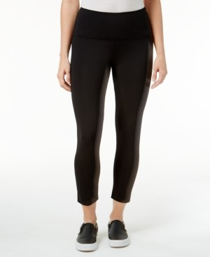 Style&Co. Style & Co Cropped Tummy-Control Leggings, Created for Macy's
