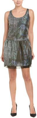 Armani Collezioni Silk-Blend Shift Dress