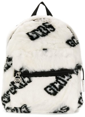 Gcds Kids Logo Print Backpack