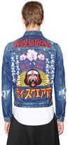 DSQUARED2 Japan Embroidery Distressed Denim Jacket