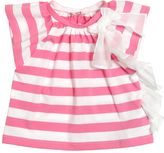 Il Gufo Striped Cotton Jersey Top