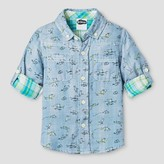 Genuine Kids from OshKosh Toddler Boys' One Fish Two Fish Button Down Shirt - Dr. Seuss