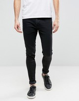 Ringspun Skinny Black Jeans