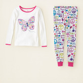Children's Place Notebook peace cotton pjs
