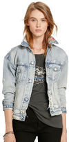 Denim & Supply Ralph Lauren Patchwork Denim Trucker Jacket