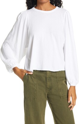 The Great The Pleat Sleeve T-Shirt