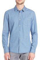 HUGO BOSS Chambray Woven Shirt