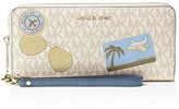 MICHAEL Michael Kors Illustrations Fly Away Travel Continental Wallet