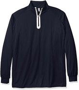 Russell Athletic Men's Big and Tall Quarter Zip Performance Sweater