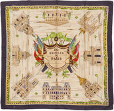 One Kings Lane Vintage Hermès Les Edifices de Paris Rare Scarf