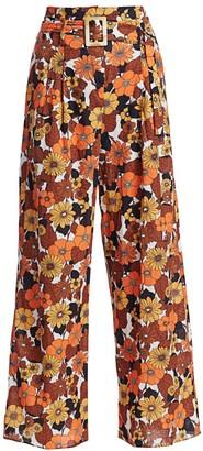 Dodo Bar Or Gigi Floral-Print Pants