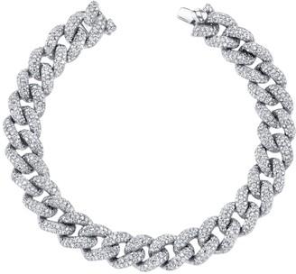 Shay Essential Pave Diamond Link Bracelet
