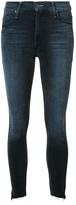 Mother Stonewash Effect Skinny Jeans