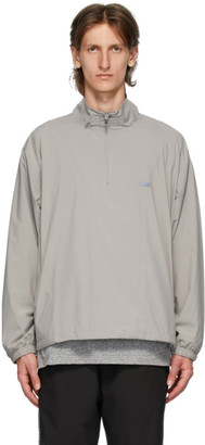 Chemist Creations Grey Half-Zip Track Jacket