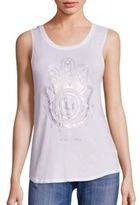 Spiritual Gangster Native Hamsa Supima Cotton Blend Tank