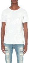 Diesel More noise tonal print t-shirt